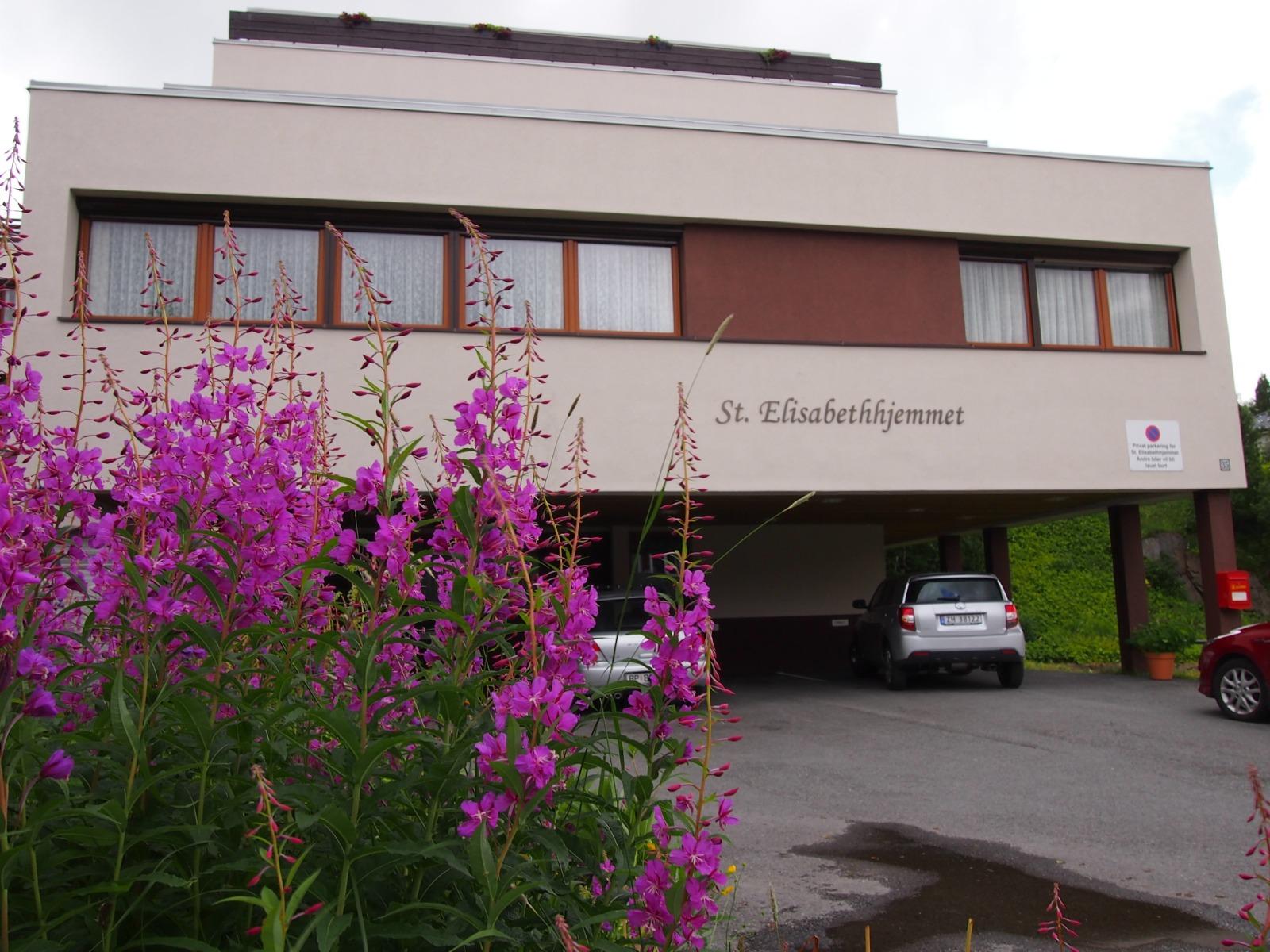 St Elisabethhjemmet i Balsfjordgata 35 som et aldershjem fra 1976