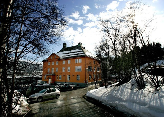 St Elisabeth hospital i Tromsø (1924-1977) farge bilde