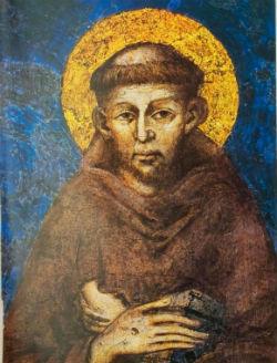 Den hl. Frans av Assisi